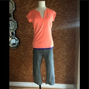 Nike medium top with large bottoms